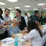 陽光基金會培訓燒傷技術》中美洲8國專業人員來台,我國傷友親赴現場、自願當教案