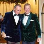 英國王室第一場同志婚禮》「這是愛他的見證!」女王遠房表弟蒙巴頓爵士與空少男友完婚