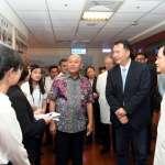 印尼棉蘭市長訪高雄榮總 許立明盼擴大醫材產業合作