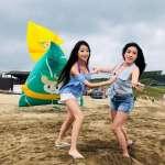 2018新北市北海岸國際風箏節 五米大肉粽風箏天空飄香