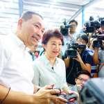 2018縣市長選舉》搶先造訪侯友宜 盧秀燕預告六都市長參選人將大合體