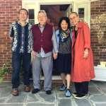 劉霞赴普林斯頓拜訪余英時 老友余杰作陪,透露「劉霞明年可能來台灣」