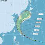 對台威脅降低!往東偏減弱為中颱 康芮發布海警機率低