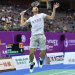 羽球》43分鐘扣倒李東根 周天成泰國羽賽闖16強