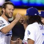 MLB季後賽》克蕭、簡森合力完封勇士 道奇取得聽牌優勢
