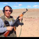 網傳男持AK47射擊「柯文哲」金牌 柯辦譴責:勿激化社會對立