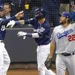 MLB季後賽》王牌克蕭被打爆 釀酒人灌醉道奇奪12連勝