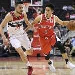 NBA》陳盈駿熱身賽連2年對巫師 飆進3記三分彈