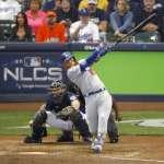 MLB季後賽》道奇透納逆轉兩分砲 成功扳平戰局