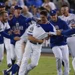 MLB季後賽》貝林格敲再見安 道奇13局險勝釀酒人
