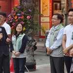 「認真經營台東10多年,沒離開過」 蔡英文:劉櫂豪是縣長最佳人選