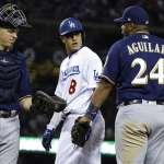 MLB季後賽》馬查多跑壘又出腳 骯髒手段引來道奇名將痛批