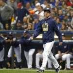 MLB季後賽》釀酒人神調度仍不敵克蕭7局好投 道奇搶勝聽牌
