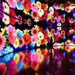 「友達微美館」參與台中花博 全台最大556吋顯示器拼接牆絢麗登場