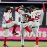 MLB季後賽》紅襪擁有史詩外野三劍客 17年來最搖擺