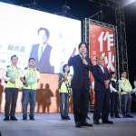 呼籲支持蘇貞昌  賴清德批:國際對中國看法已改變,但還是有一批人唱衰台灣