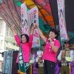 嘉義市戰場》蕭淑麗搶攻綠營票 公開為綠市議員候選人站台