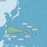 還有颱風?玉兔轉強颱,有機會更接近台灣