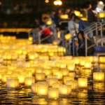 真如苑《2018國際祈福水燈節》數千盞水燈凝聚眾人的力量,傳遞心願與祝福