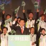 台中市長選舉》林佳龍民調9月幾乎被盧秀燕追平 4位新潮流系立委啟動巷戰「護龍」