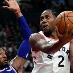 NBA》雷納德回來了! 暴龍咬傷76人