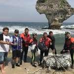 與海龜共遊 民眾積極參與小琉球淨灘