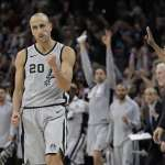 NBA》明年3月主場迎戰騎士 馬刺將退休吉諾比利20號球衣