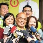 韓國瑜喊當選禁抗議 蘇貞昌質疑「市長權力超過憲法?」