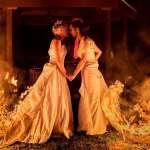 烈焰婚紗照不是特效?美國女同志新人不靠P圖直接點燃婚紗,忍住高溫只為拍下獨一無二的絕美回憶!