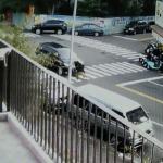 黎明幼兒園長騎單車撞林佳龍座車 市府:撞上前一刻,座車幾乎是靜止