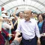 馬英九稱「不排除統一」  蘇貞昌諷:他像延禧攻略的「爾晴」
