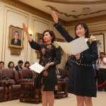 遞補張麗善、陳其邁不分區立委缺額 林奕華、陳靜敏宣誓就職