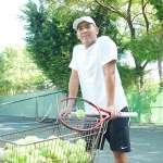 網球》海碩盃雙打冠軍楊宗樺 重返母校與學弟妹相見歡