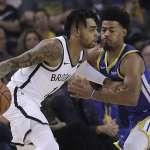 NBA》柯瑞缺陣沒關係 庫克27分破籃網