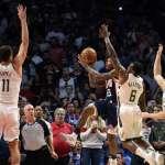 NBA》威廉斯關鍵一擊 快艇延長賽擊敗公鹿