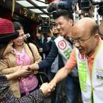 跨區輔選議員候選人因台北市「母雞」不夠力?蘇貞昌直呼:不會啦