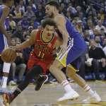 NBA》內外雙星缺陣 勇士仍逆轉擊落老鷹