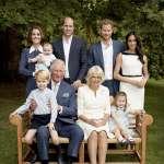 英國王儲查爾斯70大壽 王室公布祖孫三代合照
