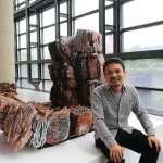 日陶藝家10年巨型陶作 「 悲哀與美麗」霸氣展出中