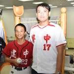 棒球》陳韻文為黑豹旗開球 回憶首屆對決建中戲碼