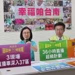連續直播36小時描繪台南 黃偉哲祭「超級計畫」盼刺激選情