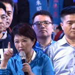 朱立倫、胡志強站台力挺 盧秀燕籲市民「用選票救經濟」