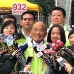 蘇貞昌再諷侯友宜:無法超越朱立倫也不敢辯論