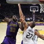 NBA》湖人破爵士吹出3連勝 得分創本季新低