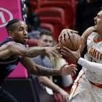 NBA》老鷹客場險遭逆轉 本季5勝有2勝來自熱火