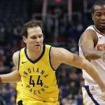 NBA》波格丹諾維奇飆進致命三分彈 溜馬驚險勝太陽