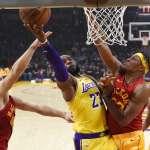 NBA》湖人患了過度依賴詹皇症?!  詹姆斯38分斬溜馬