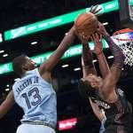 NBA》傑克森、康利寫紀錄 助灰熊延長賽撕破籃網