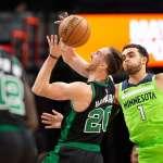 NBA》海沃德回歸新高30分 綠衫軍斬斷灰狼4連勝