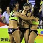 高雄港都盃沙灘球賽 中華男A、中華女B奪冠
